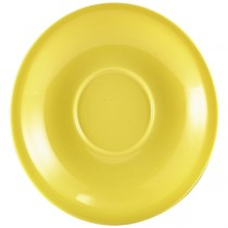 Saucer Yellow 13.5cm