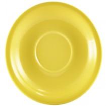 Saucer Yellow 14.5cm
