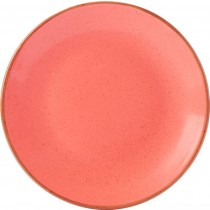 Porcelite Seasons Coral Coupe Plate 24cm