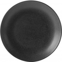 Porcelite Seasons Graphite Coupe Plate 24cm