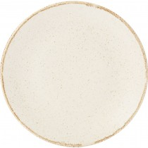 Porcelite Seasons Oatmeal Coupe Plates 18cm