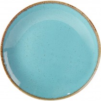 Porcelite Seasons Sea Spray Coupe Plate 24cm