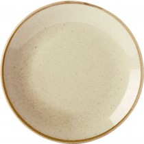 Porcelite Seasons Wheat Coupe Plates 24cm