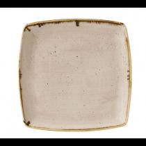 Churchill Stonecast Nutmeg Cream Deep Square Plate 26.8cm