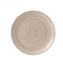 Churchill Stonecast Nutmeg Cream Coupe Plate 28.8cm