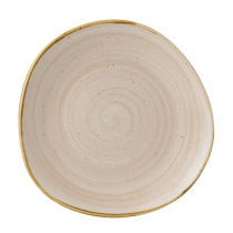 Churchill Stonecast Nutmeg Cream Organic Round Plate 28.6cm