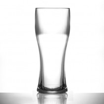Elite Pilsner Plastic Pint Glasses CE Stamped @ pint