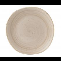 Churchill Stonecast Nutmeg Cream Organic Round Plate 26.4cm