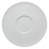 Signature Chef Collection White Natura Plate 33cm