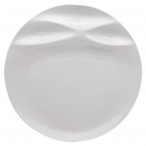 Signature Mares White Round Plate 29cm