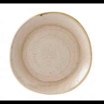 Churchill Stonecast Nutmeg Cream Organic Round Plate 21cm