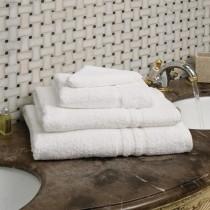 Mitre Essentials Capri Bath Sheet White 1000 x 1500mm