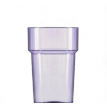 Econ Neon Purple Rigid Reusable Pint Glasses CE 20oz / 568ml