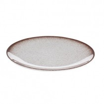 Tafelstern Ombre Flat Coupe Plate - Brown 32 cm