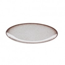 Tafelstern Ombre Flat Coupe Plate - Brown 30 cm