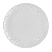 Tafelstern Gallery Flat Coupe Plate - Snow Gloss 32cm