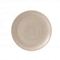 Churchill Stonecast Nutmeg Cream Coupe Plate 26cm