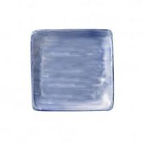 Bauscher Modern Rustic Blue Flat Square Plate 19cm