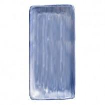 Bauscher Modern Rustic Blue Rectangular Platter 30cm