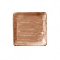 Bauscher Modern Rustic Sand Flat Square Plate 19cm