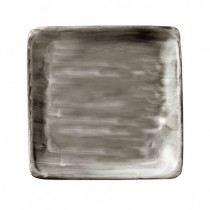 Bauscher Modern Rustic Wood Flat Square Plate 29cm