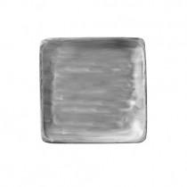 Bauscher Modern Rustic Grey Flat Square Plate 19cm