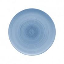 Bauscher Modern Rustic Blue Flat Coupe Plate 28cm