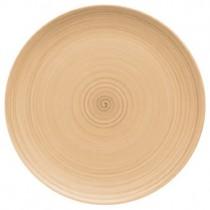Bauscher Modern Rustic Sand Flat Coupe Plate 32cm