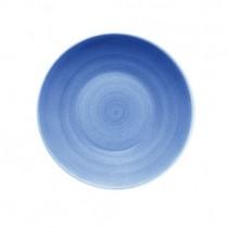 Bauscher Modern Rustic Blue Deep Coupe Plate 24cm