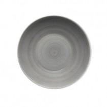 Bauscher Modern Rustic Grey Deep Coupe Plate 24cm