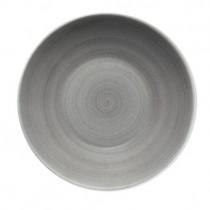 Bauscher Modern Rustic Grey Deep Coupe Plate 30cm