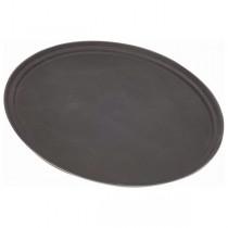 Gengrip Fibreglass Oval Tray Black 31inch