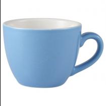 Bowl Shaped Cup Blue 3oz