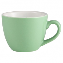 Bowl Shaped Cup Green 3oz