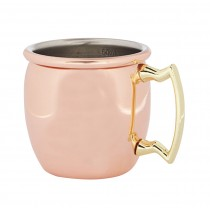 Copper Curved Jigger Mug