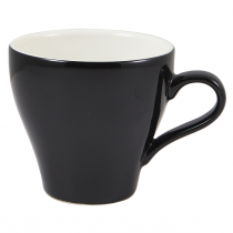 Tulip Cup Black 10oz