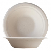 Eco-Fibre Compostable Wheat Large Bowls 400ml