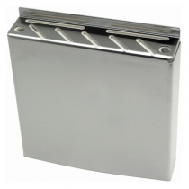 Genware Stainless Steel Knife Box 30.5 x 30.5cm