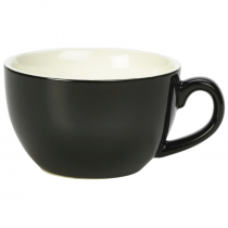 Bowl Shaped Cup Black 6oz