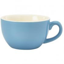 Bowl Shaped Cup Blue 6oz