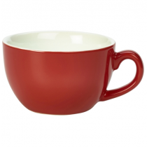 Bowl Shaped Cup Red 6oz