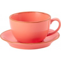 Porcelite Seasons Coral Bowl Cups 9oz / 25cl