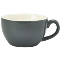 Bowl Shaped Cup Grey 8.75oz