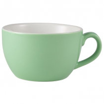 Bowl Shaped Cup Green 8.75oz