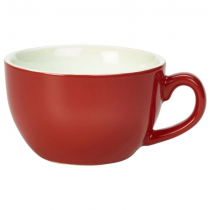 Bowl Shaped Cups Red 8.75oz