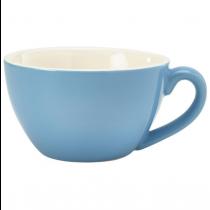Bowl Shaped Cup Blue 12oz