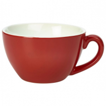 Bowl Shaped Cup Red 12oz