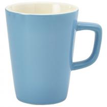 Handled Latte Mug Blue 12oz