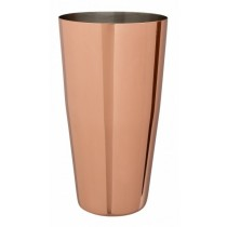 Mezclar Copper Plated Boston Cocktail Shaker Can 28oz