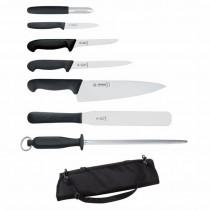 Geisser 7 Piece Knife Set & Case